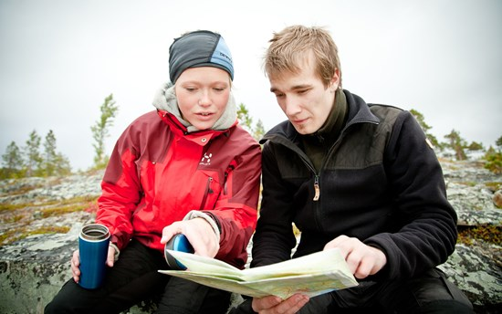 Reading a Map in the Arctic