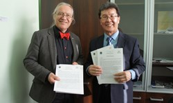 UArctic - Northern Forum MOU signing 2014