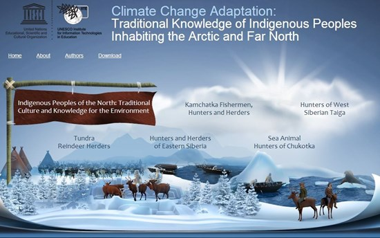 UNESCO Northern Peoples Climate Change Site