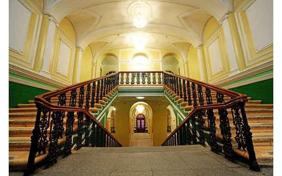 Inside main builing Tomsk