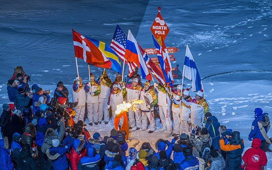 Sochi Olympic Torch Run to the North Pole – A symbol of Arctic Cooperati1
