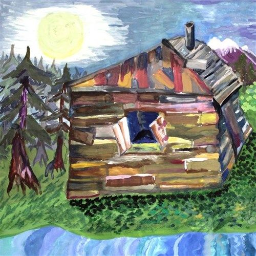 Fomicheva Elana, 11 years, Lost house