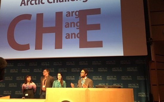 Arctic CHallengE UArctic Student Ambassadors Vision at Arctic Frontiers
