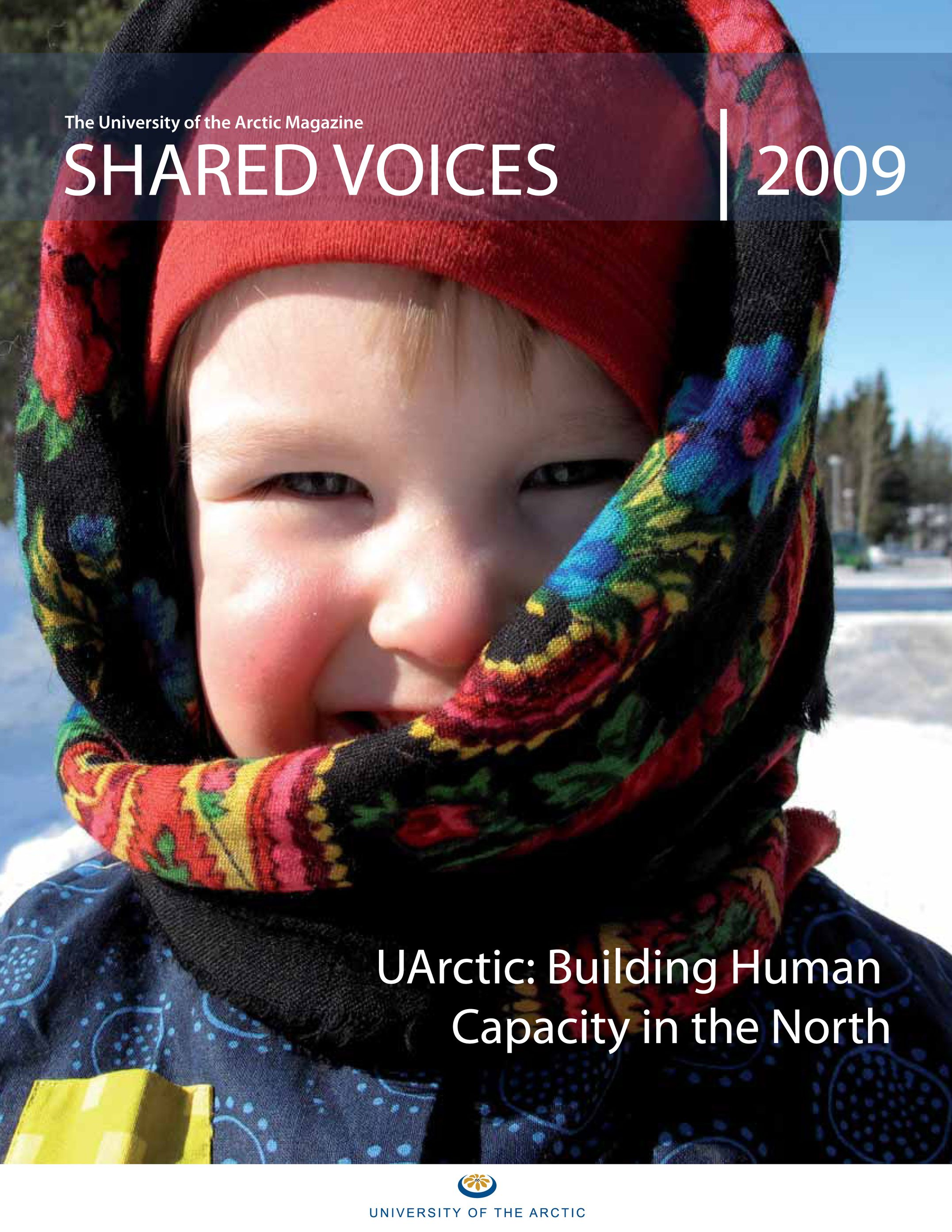 shared voices 2009 cover page