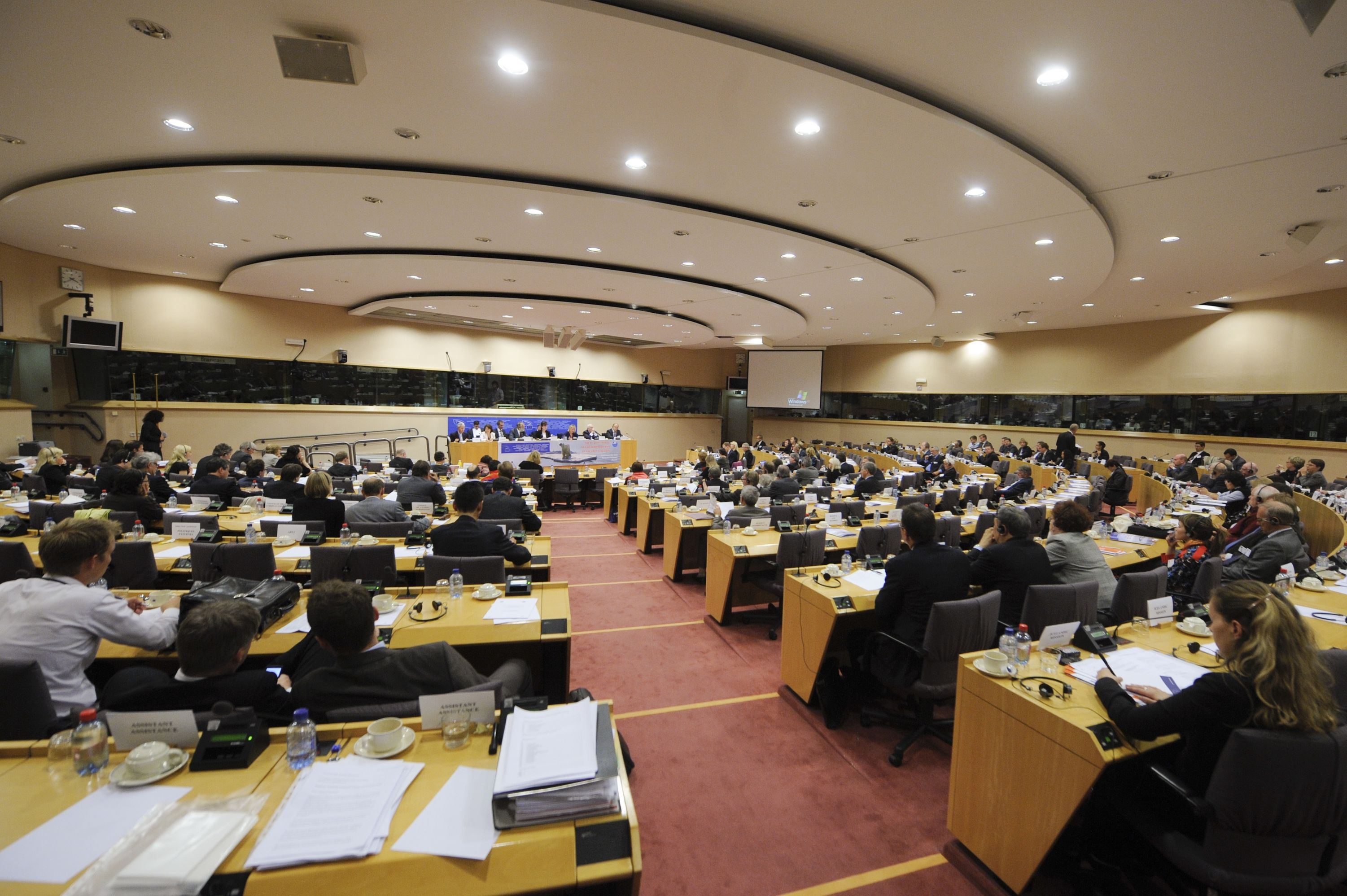 Board - EU Parliament - Brussels 092010 i
