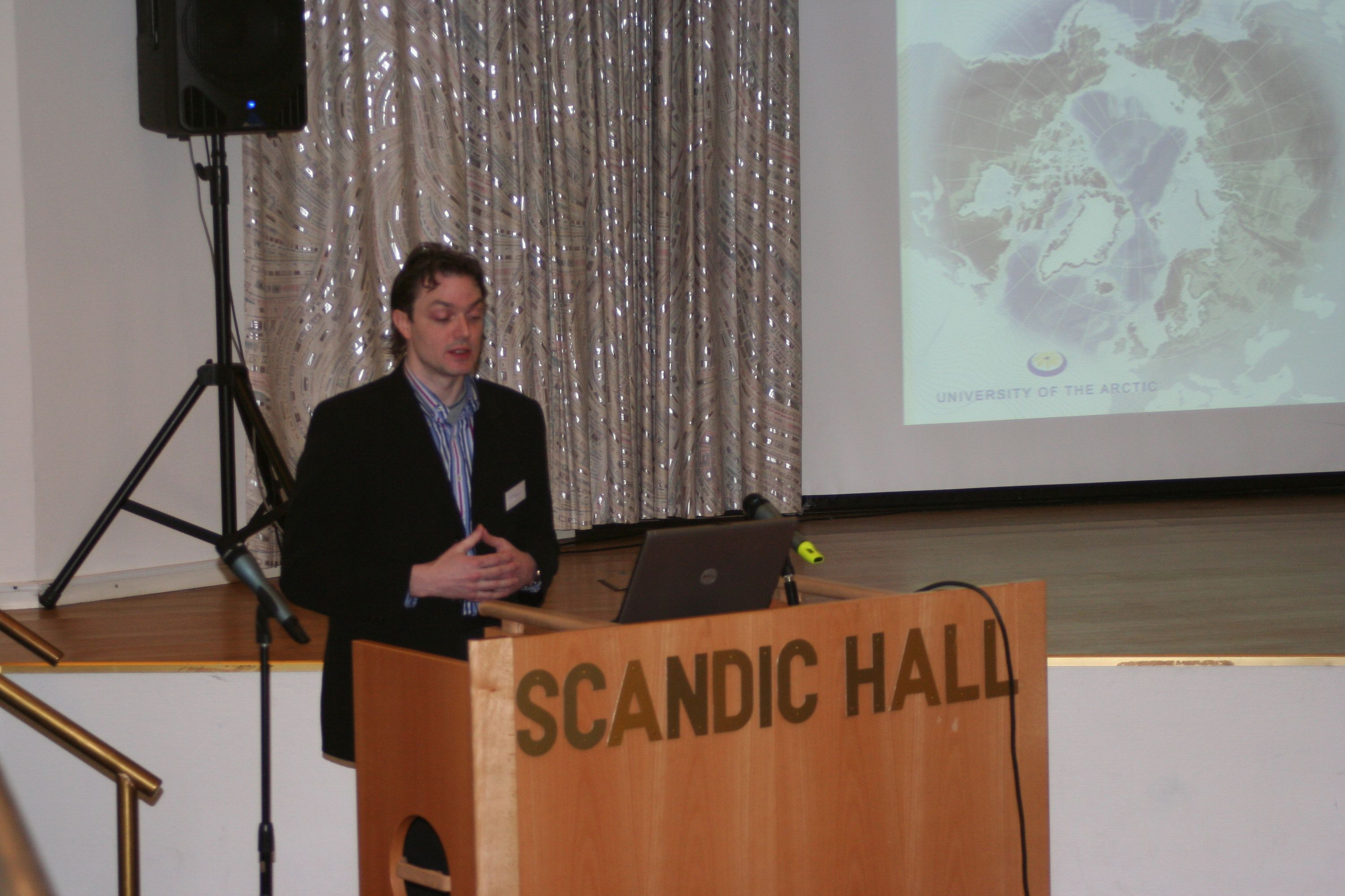 Scott Forrest launches UArctic Atlas website in Tromso