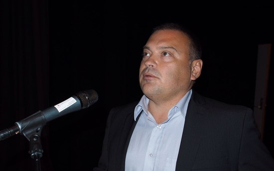 Keith Chaulk at 25th Anniversary Celebrations of Sami University College