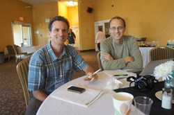 Professor Greg Halseth together with Sean Markey from Fraser University, BC, Canada