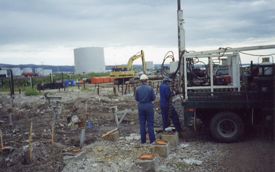 The Challenge: Remediating  Contaminated Arctic Sites