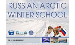 Russian Arctic Winter School